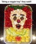 vegie tray clown.jpg