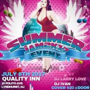 Thick N Lucious Presents Summer Blast July 8th 2017 Larry Sanchez & Ivan Velez will be playing top 40,R&B, house, HipHop, As Sheri will greet at the