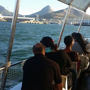 Boat ride around Cape Town Harbour
