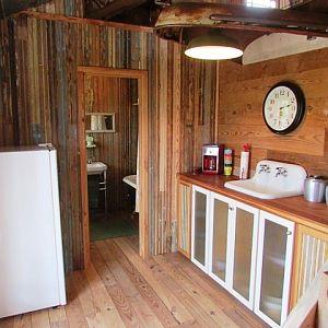 downstairs kitchen/bath