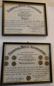 NRA Marksmanship plaques 1966mdsmblur.jpg
