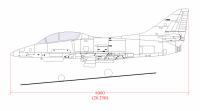 Australian TA-4J Skyhawk to scale.png