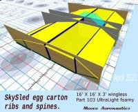 SKYSLED, egg crate construction.jpg