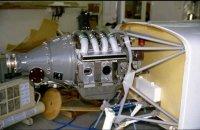 Mistral Engine installed.JPG
