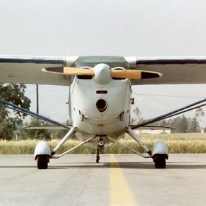 My Dad's old Aeronca.