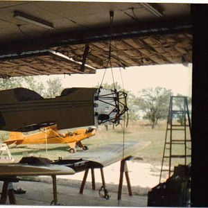 Final mating of wings and fuselage.