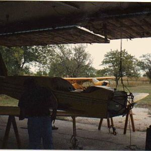 Wings and fuselage mated.