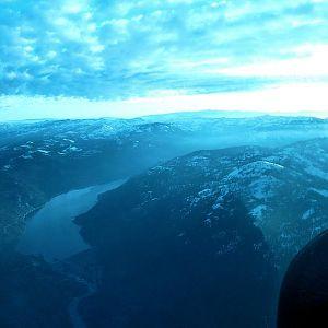 A look north at Donner Lake