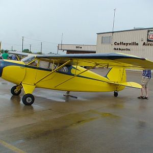 Todat we went to the Funk Flyin at Coffeyville,KS.There were two each Funk airplanes the one I rebuilt finished in Jan,2000.https://www.youtube.com/wa