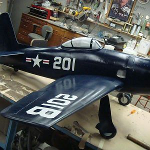 Bearcat, I help make the mold and we laid up the fiberglass fuse. I caded the wings and laser cut them on our 130w laser