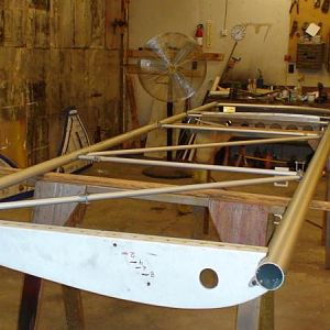 Assembled the Right wing with new front spar July21,12