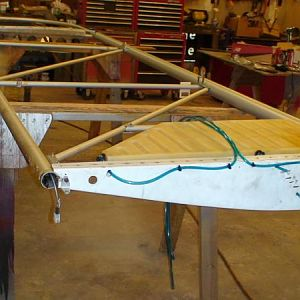 Right wing fuel tank replaced fuel out lets. July24,12