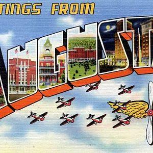 Army Air Forces   Postcard   Daniel Field Augusta Georgia