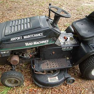 image airport lawn mower