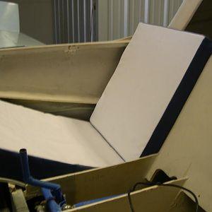 Space age foam seat cushions