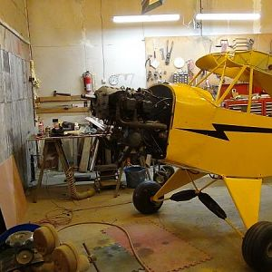 I have been distracted but I make some small progress now an then. Hope to have it flying this spring.