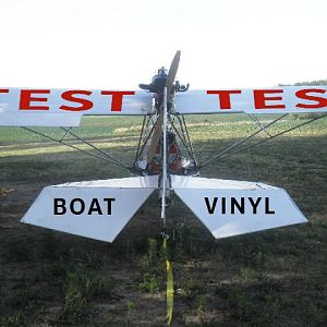 TEST TEST BOAT VINYL Switched Wing
