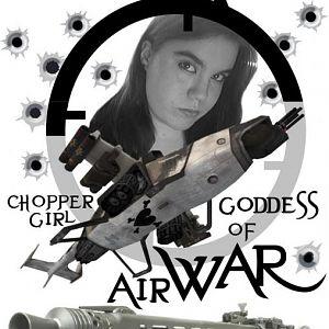 BookCover   Choppergirl Goddess of Airwar D