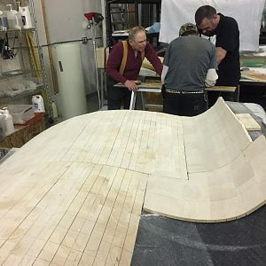 Balsa core and high temp epoxy in the cowling molds allows cowling parts to be post-cured at high temperatures, which is helpful for parts exposed to