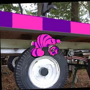 Sticky Cheshire Cat