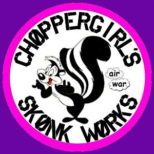 Skunkworks Logo Pink Purple