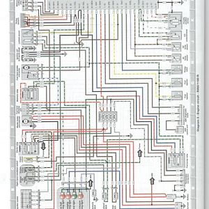 Engine circuit R850 1100R from Haynes book