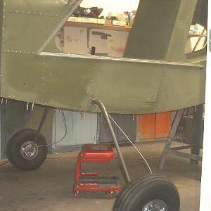 Trial fit landing gear