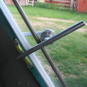 Inside pic of the very basic door handle. Very simple design.