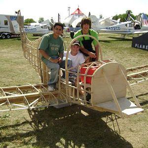 TS 1 Air Academy crew