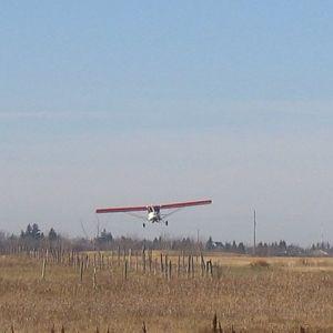 CIDOVLanding Landing on runway 09 after a 15 minute test flight.