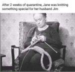 Jane knitting something special.jpg