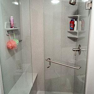 Bench shower kit
