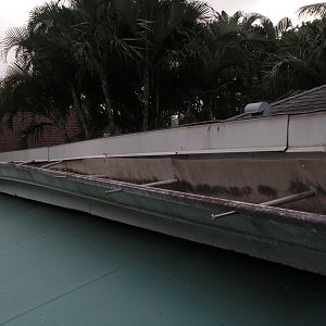 Gutter is coming loose