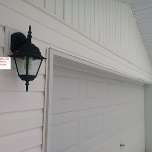 Outside Garage Lights