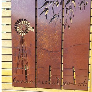Decorative Metal Panels | Corten Steel Panels