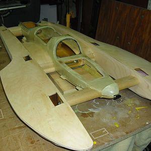 U-50 Tri-wing scale