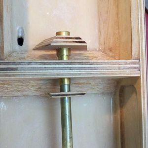 Instaling carrier bearing
