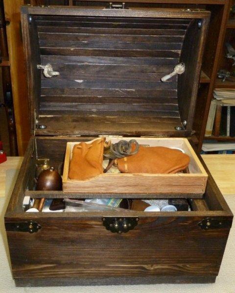 7-2014Muzzleloader supplies wood case I built insidesm.JPG