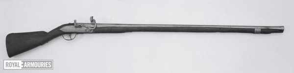 William III Pattern (about 1690) - .77 bore x 45.5 in. brl x 60.25 OAL.jpg