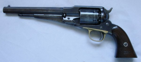 New Model Remington Army Sn 107274 manfactured in 1863.JPG