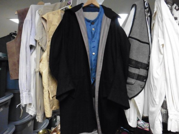 Wool frock coat 26 across x 42 long.JPG
