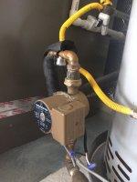 Grundfos recirculation pump with Grundfos Aqualink added SIDE VIEW.JPG