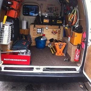 My van.
