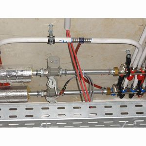 motorized ball valve for water control automation.