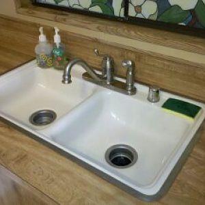 New Moen faucet