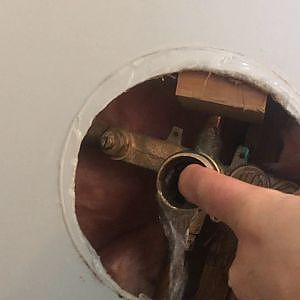 delta faucet valve issue - YouTube