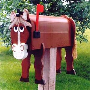 Horse mailboxes