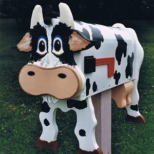 Cow mailboxes