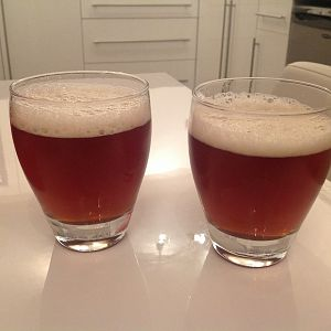 Wherry, my first brew.