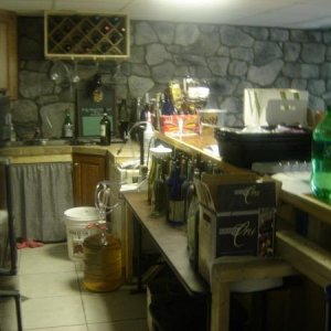 Wine making room / Bar area